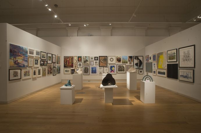 The Open 25 exhibition at New Walk Museum & Art Gallery