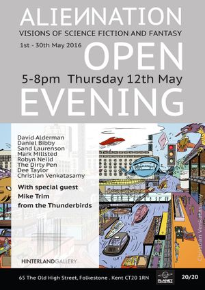 Open Evening - ALIENNATION