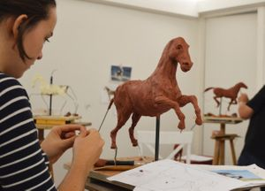 Open Format Clay Modelling Evening Class with Alan Herriot