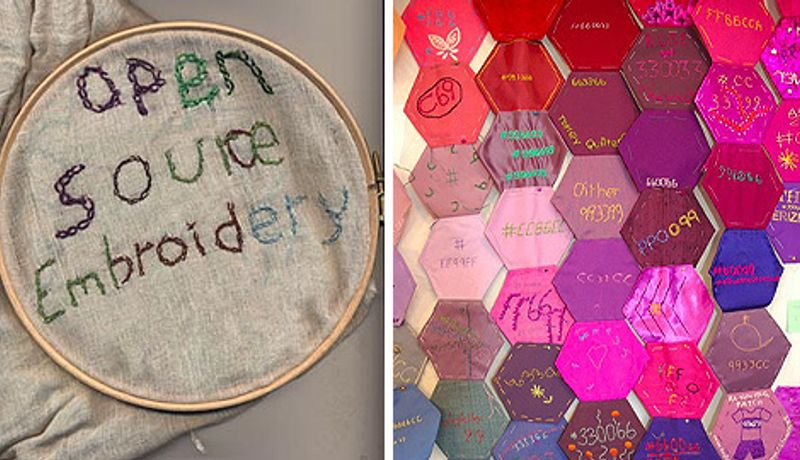 Open Source Embroidery: Craft and Code at HTTP Gallery: Image 0