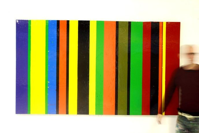 Mentioned in Despatches Gloss paint on Canvas