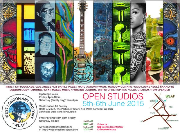 Open Studios at the Factory: Image 0