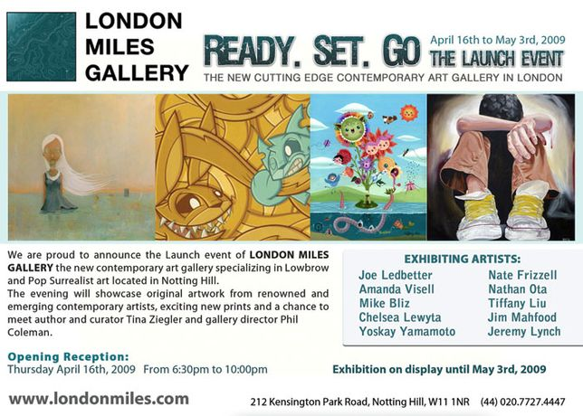 Opening Reception of London Miles Gallery: Image 0