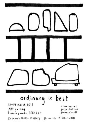 ordinary is best
