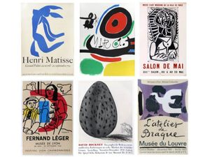 Original Artists' Posters - Picasso, Matisse, Miro, Braque, Leger & Hockney