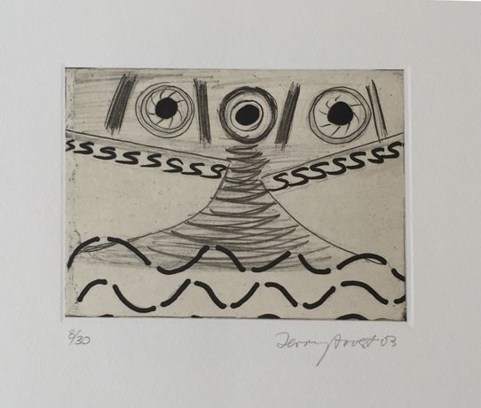 SS portfolio of eight etchings by Terry Frost