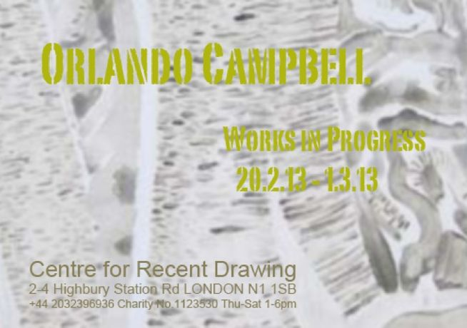Orlando Campbell - Works in Progress: Image 0