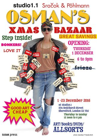 OSMAN'S XMAS BAZAAR 2017 opens Thursday 7 December