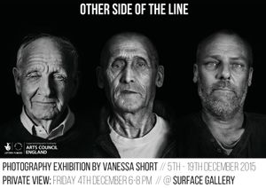 Other Side of the Line:  A Solo Exhibition By Vanessa Short