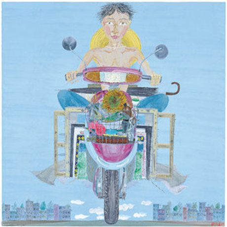 Insistence 180×180cm  Oil on canvas 2009