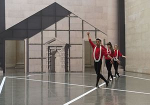 Pablo Bronstein, Historical Dances in an Antique Setting, Tate Britain, London 2016. Photo: BrothertonLock, Courtesy of the artist & Herald St, London