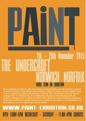 PAiNT Exhibition Poster