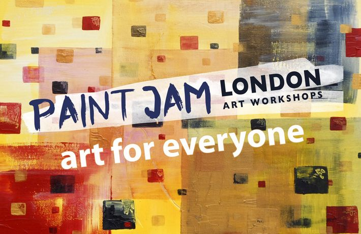 Paint Jam Night 'Abstract' - social painting, Dj, Prosecco: Image 1