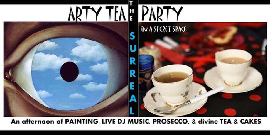 Paint Jam's SURREAL Arty Tea Party: Image 0