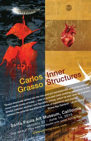 Painter Carlos Grasso is exhibiting at the Santa Paula Art Museum January 31st: Image 0