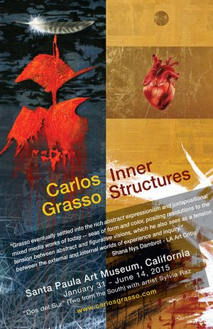 Painter Carlos Grasso is exhibiting at the Santa Paula Art Museum January 31st