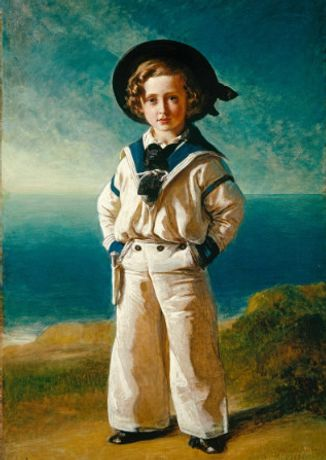 Frans Xaver Winterhalter, Kind Edward VII (1841-1910), When Albert Edward, Prince of Wales, 1846, Royal Collection Trust / © Her Majesty Queen Elizabeth II 2018