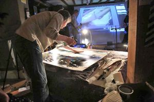 Painting Live Music - with artist Rod Craig