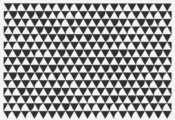 Bridget Riley, Divertimento, 2016. © Bridget Riley 2018. All rights reserved. Courtesy the artist and Sprüth Magers