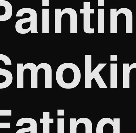 Painting Smoking Eating: Image 0