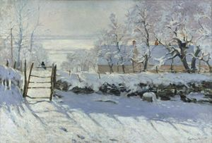 Painting the Winter Landscape - Monet's The Magpie