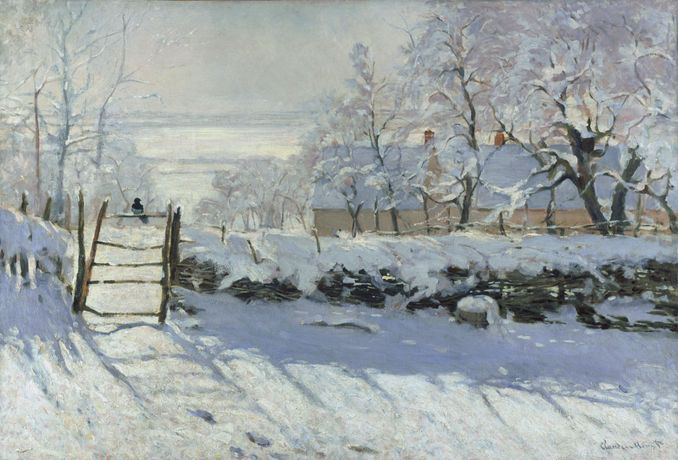 Painting the Winter Landscape - Monet's The Magpie: Image 0