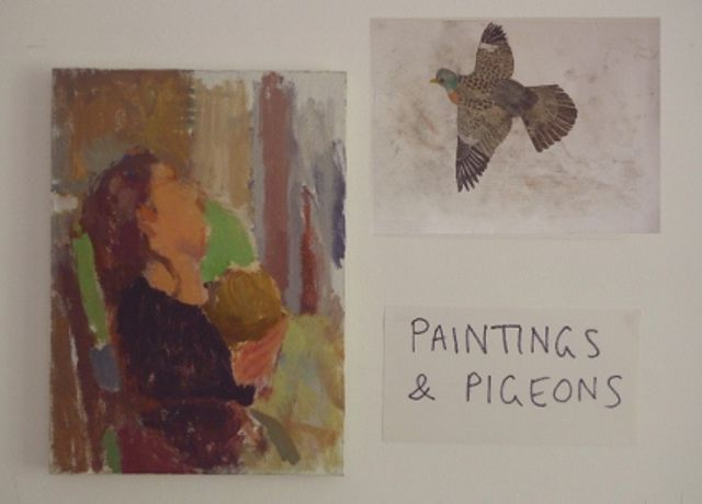 Paintings and Pigeons at the Royal Opera Arcade Gallery: Image 0