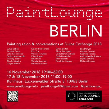 A salon exhibition and conversations between German & UK painters