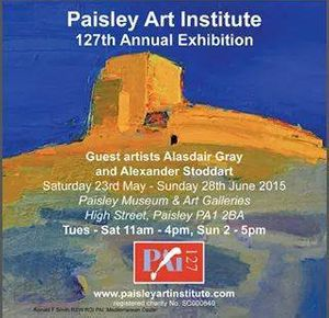 Paisley Art Institute 127th Exhibition