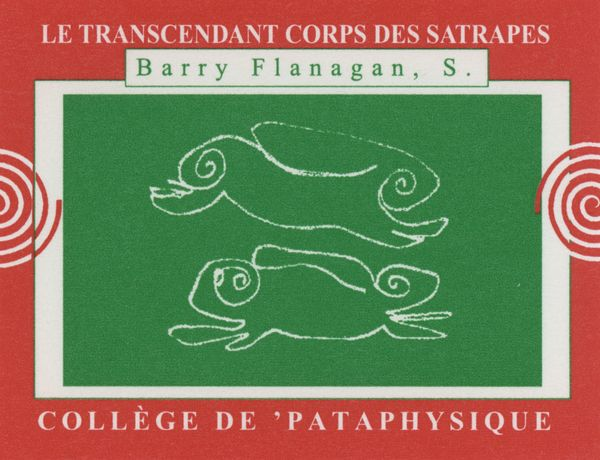 Image copyright The Estate of Barry Flanagan, courtesy Bridgeman Art Library.