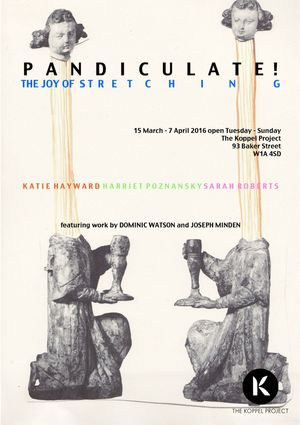 Event Poster for The Koppel Project's exhibition: Pandiculate!
