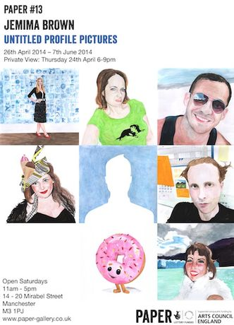 PAPER #13: Jemima Brown. Untitled Profile Pictures.: Image 0