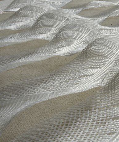 Jennie Parry: Swirling Waves (paper weaving)