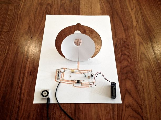 PAPER ELECTRONICS WORKSHOP WITH CORALIE GOURGUECHON: Image 0