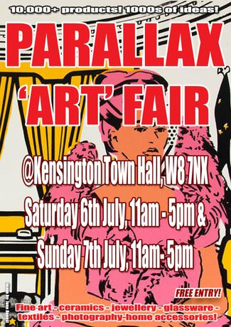 Parallax Art Fair 26th Edition in July 2019: Image 0