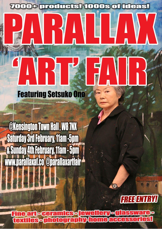 Art Events Calendar London : Parallax art fair february exhibition at kensington
