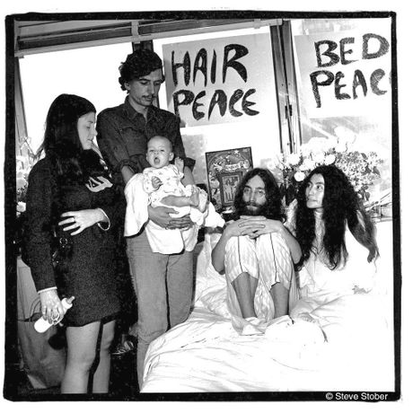 John and Yoko, Bed In, Montréal, 1969