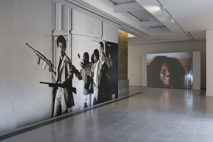 Arthur Jafa, Installation view 'A Series of Utterly Improbable, Yet Extraordinary Renditions', Serpentine Sackler Gallery, London (08 June 2017 – 10 September 2017). Image © Mike Din