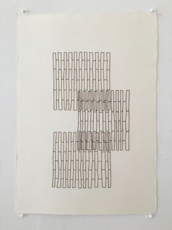 Robert Lansden Thread Drawing 4