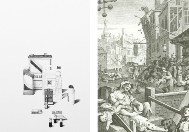 Passive Political: Ross Jones in the presence of William Hogarth: Image 0