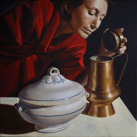 Profumi - 2010 - Oil on canvas - 60 x 60 cm.
