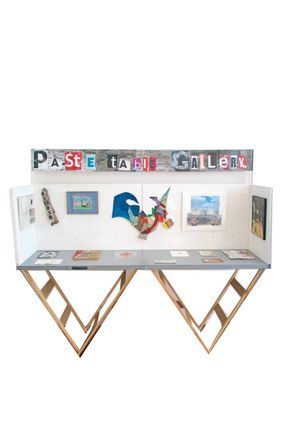Paste Table Gallery at Brixton Library 12-24 Feb