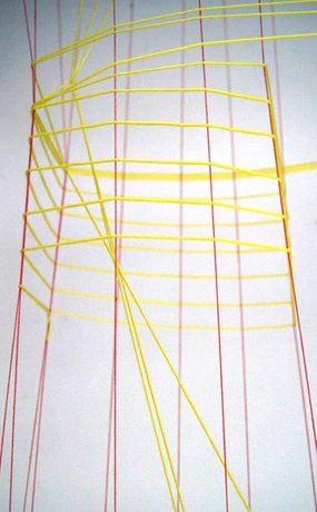 Patio Project #7 Evy Jokhova | String-scape: Image 0