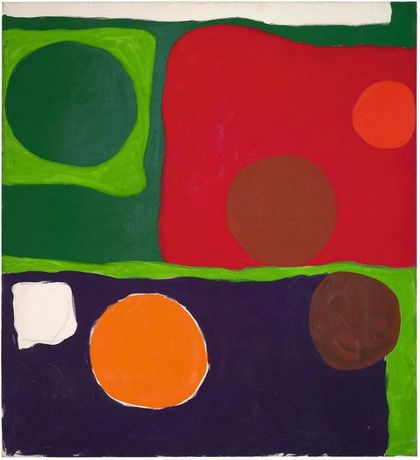 Patrick Heron Five Discs: 1963 1963 © Estate of Patrick Heron. All Rights Reserved, DACS 2018