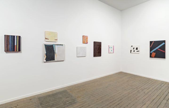 installation view upstairs, 2015