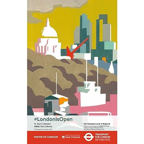 London is Open by Paul Catherall
