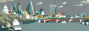 City of London in Grey by Paul Catherall