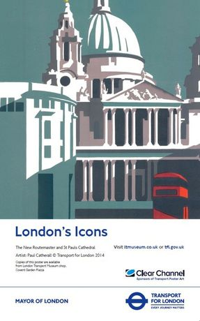London Transport Museum Poster by Paul Catherall