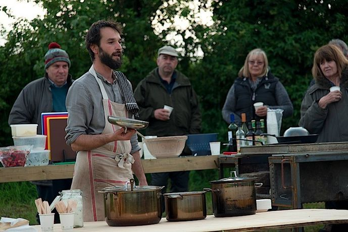 Dominic Bailey, Chef - Critical Camp series at Kestle Barton, May - September 2016