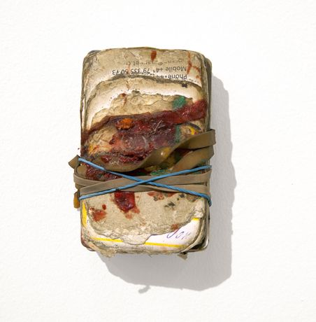 Paul Johnson, Wallet (5 Years), 2010-15. Various media. Installation View, 'The Sunless Sea'. Courtesy Focal Point Gallery, Southend. Photo: Manuela Barczewski Paul Johnson, Wallet (5 Years), 2010-15. Various media. Installation View, 'The Sunless Sea'. Courtesy Focal Point Gallery, Southend. Photo: Manuela Barczewski